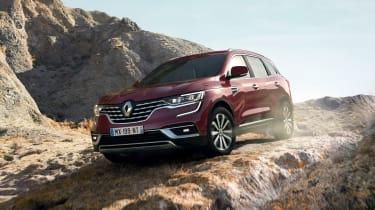 Renault Koleos facelift - front 3/4 driving