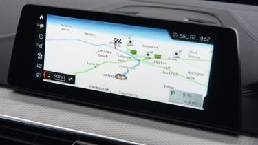All models come with BMW's iDrive system, sat nav and DAB radio as standard