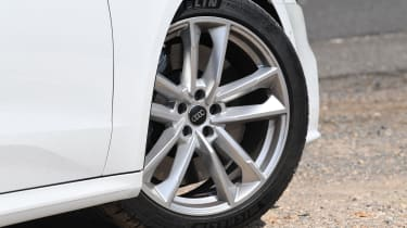 Audi S7 hatchback alloy wheels