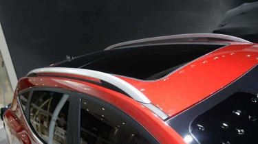 And the car will feature roof rails, which are de riguer for an SUV