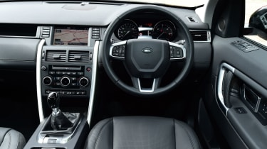 Land Rover Discovery Sport HSE interior