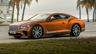 Bentley Continental GT V8 front quarter