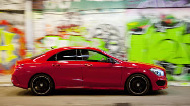 The CLA manages to feel sporty while retaining the refinement Mercedes buyers expect