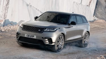 "The Range Rover Velar is the company's fourth SUV, and is positioned in the ""white space"" between the Evoque and Sport"