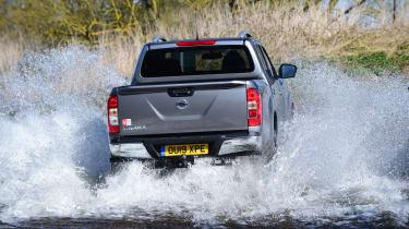 Nissan Navara - rear view off-roading