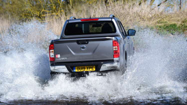 Nissan Navara - rear view off-roading