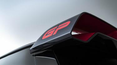 MINI John Cooper Works GP - rear spolier angled view