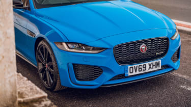 Jaguar XE Reims Edition front end detail