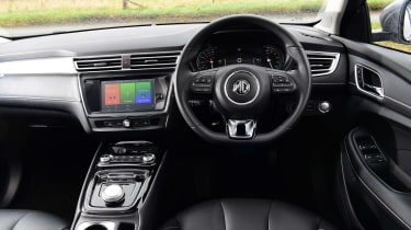 MG 5 EV estate interior