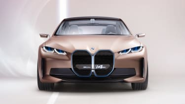 2021 BMW Concept i4 - front view