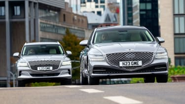Genesis G80 and GV80 - front dynamic