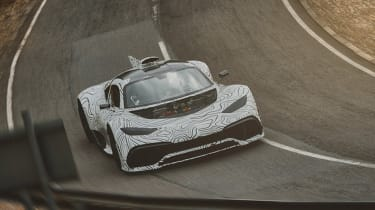 Mercedes-AMG ONE on test at Millbrook, Bedfordshire