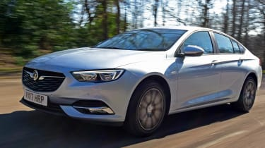 The latest Vauxhall Insignia is lower and lighter than the car it replaces - and it's now known as the Insignia Grand Sport