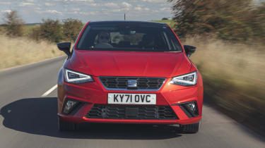 SEAT Ibiza hatchback front driving