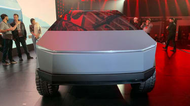 Tesla Cybertruck - front view