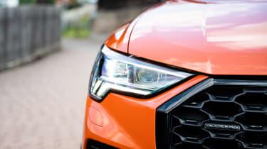 Audi Q3 Sportback SUV headlights