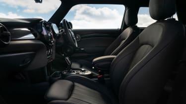 2021 MINI hatchback seats
