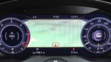 VW Arteon digital driver's display