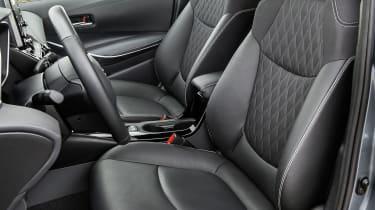 Toyota Corolla saloon front seats