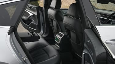 Audi A7 Sportback hatchback rear seats