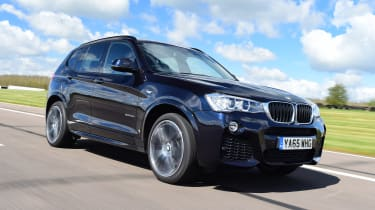 If you want a sporty SUV, the BMW X3 is one of the most fun to drive and fastest on sale