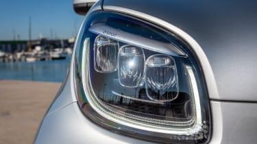 Smart EQ ForTwo hatchback headlights