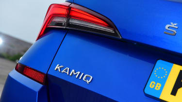 Skoda Kamiq SUV rear lights