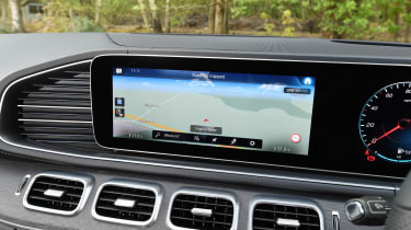 Mercedes GLE SUV MBUX infotainment system