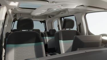 Citroen e-Berlingo seats