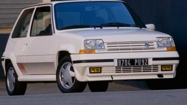 Renault 5 GT Turbo front