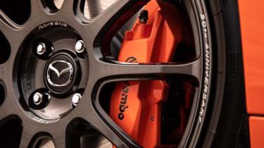 Mazda MX-5 30th Anniversary wheel detailing