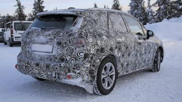 BMW 2 Series Active Tourer prototype - rear view, static