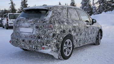 BMW 2 Series Active Tourer prototype - rear view, static