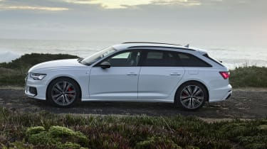 Audi A6 Avant plug-in hybrid side view