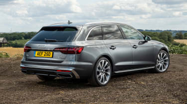 Audi A4 Avant estate rear 3/4 static