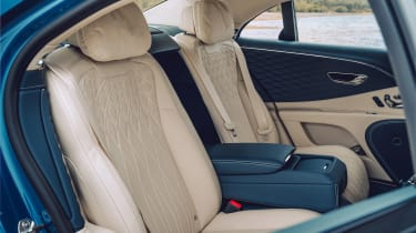 Bentley Continental Flying Spur saloon rear seats