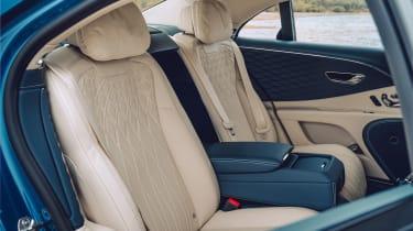 Bentley Continental Flying Spur saloon rear seats