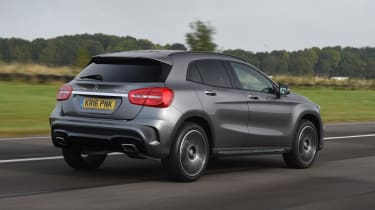 Mercedes-Benz GLA-Class AMG Line rear driving