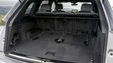 Audi Q7 S Line interior boot