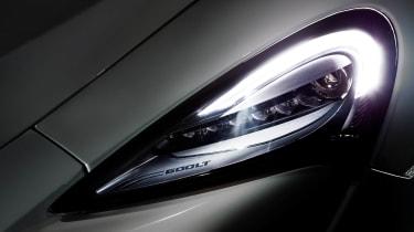 McLaren 600LT headlight