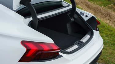 Audi e-tron GT saloon boot