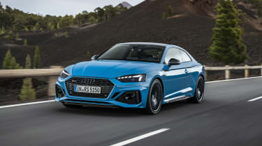 2020 Audi RS5 Coupe - front 3/4 moving