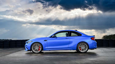 BMW M2 CS - side view