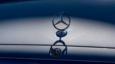 Mercedes S-Class saloon three-pointed star