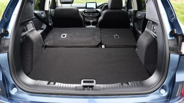 Ford Kuga SUV boot with seats folded