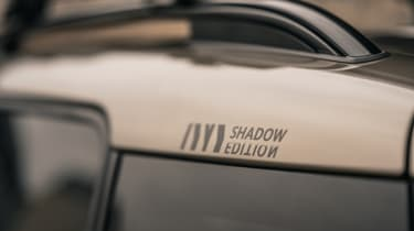 MINI Countryman Shadow Edition graphic on roof