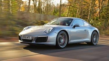 Porsche 911 - front 3/4 view