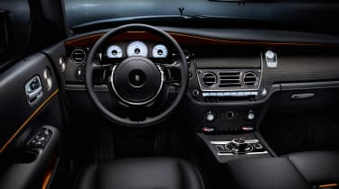 Rolls-Royce has developed a technique for weaving threads of aluminium with carbon-fibre for its interior trim