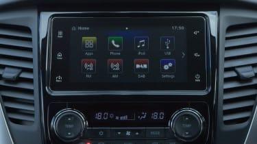 The Shogun Sport has a seven-inch touchscreen infotainment system