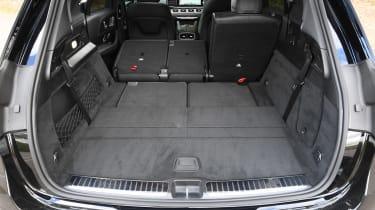 Mercedes GLE SUV boot seats down